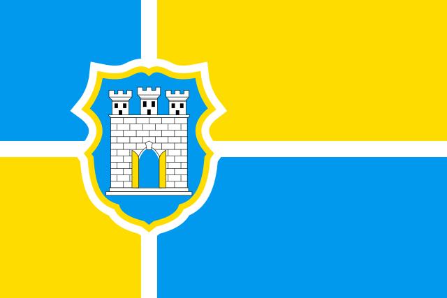 Прапор м.Житомир